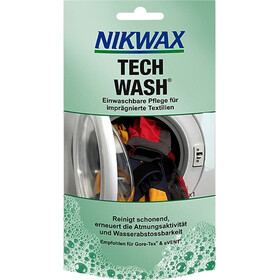 Nikwax Tech Wash 100 ml niebieski/turkusowy